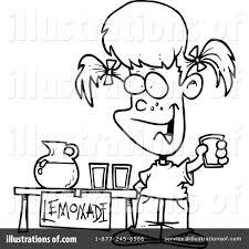 lemonade clipart 441873 illustration by toonaday