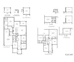 1889 model plan floor plan at tucker hill 69s in mckinney tx