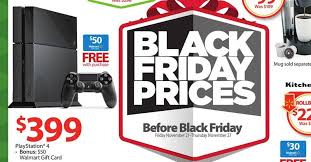 ps4 cost black friday ps4 with 50 gift card walmart deal drippler apps games news