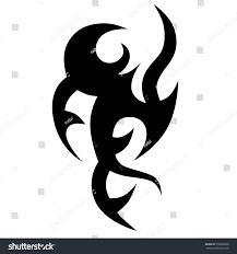 tribal tattoos design element tribal stock vector 538928038