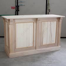 mobile bagno grezzo pratelli mobili bancone su misura da negozio in legno grezzo