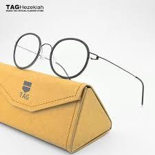 Optical Frame Tagged Glasses Fonex 2018 Tag Brands Retro Glasses Frame Titanium Made