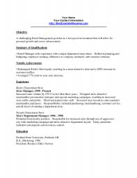 resume objective sle resume objectives for retail musiccityspiritsandcocktail