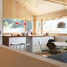 cuisine style chalet cuisines chalets idée déco et aménagement cuisines chalets domozoom