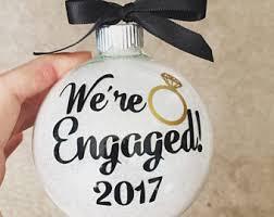 we said i do ornament engagement ornament newlywed ornament