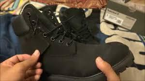 timberland 6 u0027 u0027 premium water proof all black boots u0026 unboxing and
