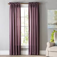 Purple Curtains Purple Curtains Drapes You Ll Wayfair