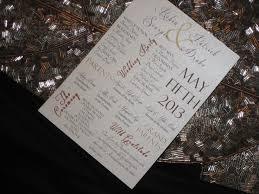 Wedding Program Stationary 122 Best Programs Images On Pinterest Wedding Stuff Dream