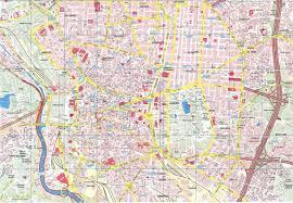 Madrid Map Madrid Full Size