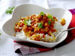 cuisine indienne riz riz au chou fleur façon tikka massala épices moi