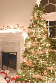 my christmas diy copper mesh garland for your christmas tree once again my