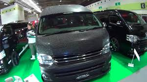 hd toyota hiace booth vol 3 more wide view youtube