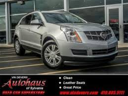2011 cadillac srx price used cadillac srx for sale in toledo oh cars com