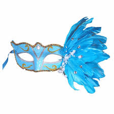 teal masquerade masks colorful masquerade mask party fashion exquisite texture