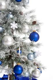 Blue White And Silver Christmas Tree - thinking silver christmas tree for next year christmas