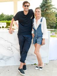 olivia palermo makes shorts overalls look chic at revolve party