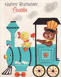 happy birthday cousin quote images happy birthday cousin vintage greeting cards pinterest