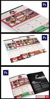 creativemarket cake flyer magazine ad template 122496 all