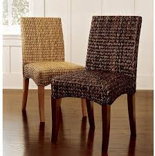 wicker kitchen furniture rattan parsons dining chairs 1354