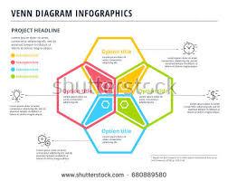 infographic venn diagram download free vector art stock