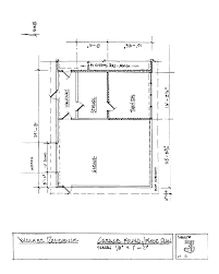 house design walkers garage attached area foundation floor plan drawing 3