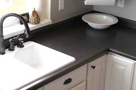 Kitchen Counter Decorating Ideas Black Kitchen Countertops Cheap Backyard Exterior And Black
