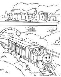 thomas train coloring coloring pages kids