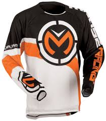 jersey motocross moose racing qualifier jersey motocross jerseys white orange