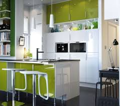 White Kitchen Cabinets Design Kitchen Room Sweet Black Wall Color Square Shape Black Color