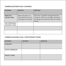 25 images of communication budget template infovia net