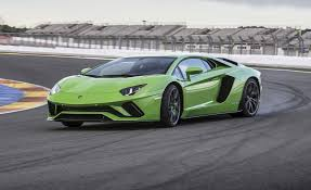 blue lamborghini aventador price 2017 lamborghini aventador s drive review car and driver