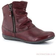 womens casual boots nz zealand josef seibel shoes wine