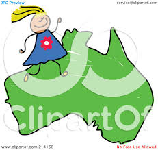 A Map Of Asia by Royalty Free Rf Clipart Illustration Of A Childs Sketch Of A