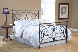 steel king size bed frame large size of bed frames wrought iron