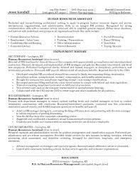 human resources curriculum vitae template human resources resumes entry level 9 best hospitality resume