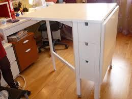 plan de travail rabattable cuisine chambre plan de travail pliable table de coupe ikea pliante norden