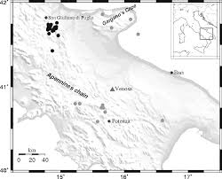 Map Of Puglia Italy by Analysis And Modeling Of Hvsr In The Presence Of A Velocity