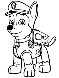 free coloring pages for neat design free printable paw patrol