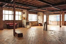 brilliant wood floor warehouse wood floor loft brick home interior