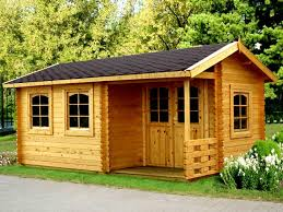 wooden log cabin log cabins for your garden useful information about garden cabins
