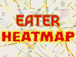 Dallas Map by The Eater Dallas Heatmap Where To Eat Right Now