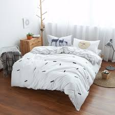 White Bed Set Queen Compare Prices On Gray White Comforter Online Shopping Buy Low