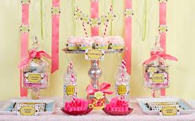 you u0027re guests love this polka dot cupcake decor party theme
