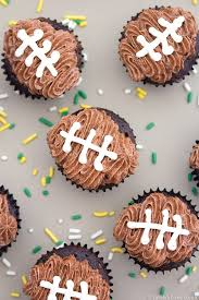 football cupcakes mini football cupcakes sarahs bake studio