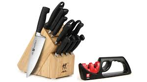 zwilling kitchen knives zwilling j a henckels four star knife block set 13 piece