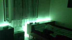 bedroom led light show youtube