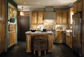 kitchen island unfinished kitchen unfinished wooden kitchen island brick backsplash