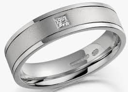 Mens White Gold Wedding Rings by Mens White Gold Wedding Rings Square Diamond
