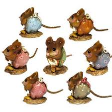 nm 1 nibble mouse set of 6 wee forest folk shop