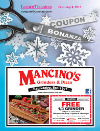 coupon bonanza winter 2017 by leader telegram issuu